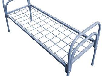 Скачать фотографию Мебель для спальни Оптовая компания, предлагает металлические кровати для бытовок, общежитий, для рабочих, 34706578 в Астрахани