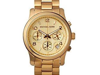 Увидеть изображение Часы Часы женские Michael Kors, золотые 34752240 в Москве