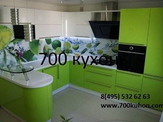 Уникальное изображение  Кухонные гарнитуры на заказ минуя посредников, Фабрика 700 кухонь, 34798862 в Москве