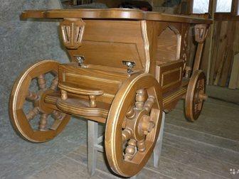 Увидеть фото Мебель для гостиной Карета-журнальный столик 34869370 в Москве