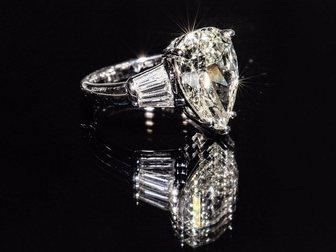 Уникальное foto  Кольцо с бриллиантами 4,6 карат 34934494 в Москве