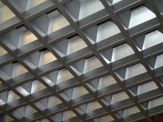 Просмотреть фото  Подвесные потолки: Грильято, кассетные, реечные, Светодиодные светильники 34960870 в Саратове