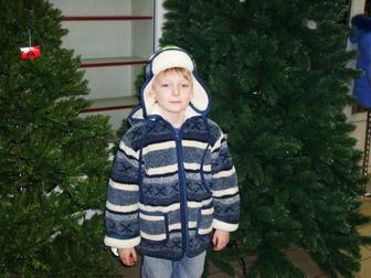Увидеть фото Детская одежда Продажа детских шерстяных курток и шапок MagicWool 35111715 в Москве