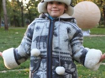 Скачать foto Детская одежда Продажа детских шерстяных курток и шапок MagicWool 35111715 в Москве