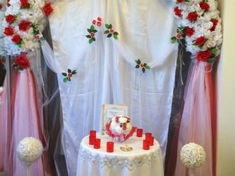 Увидеть фото  Свадьба под ключ Выездная регистрация фотограф 35326384 в Москве