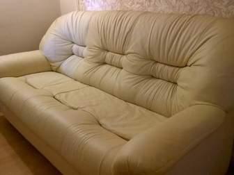 Просмотреть изображение  Кожаный диван и кресло Даллас, Ярославль 35332067 в Москве