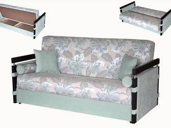 Смотреть изображение Мягкая мебель Диван-кровать с механизмом книжка Мекс 35563438 в Москве