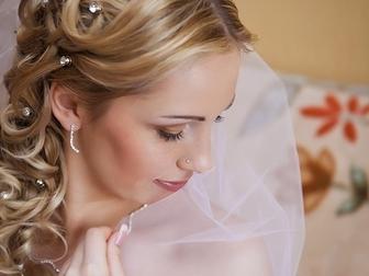 Скачать фотографию  Свадебные прически, макияж, Бесплатный выезд, 35659241 в Москве