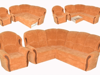 Просмотреть фотографию  Угловые диван-кровати изготовление 10 дней 36579067 в Москве