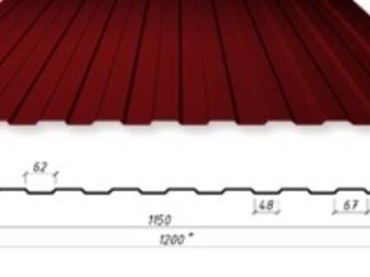 Свежее изображение  Профнастил с полимерным покрытием, 36604638 в Москве