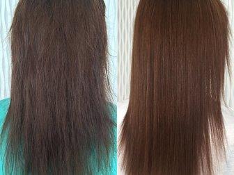 Просмотреть foto  Кератиновое восстановление и выпрямление волос 37274767 в Москве