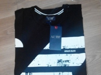Уникальное изображение Мужская одежда Футболки Армани мужские и EA7 Оригинал 37421766 в Москве