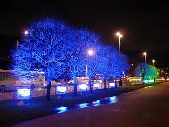 Уникальное фотографию  Новогодние гирлянды, светящиеся фигуры и панно, световое оформление, дизайн и монтаж 37609177 в Ижевске