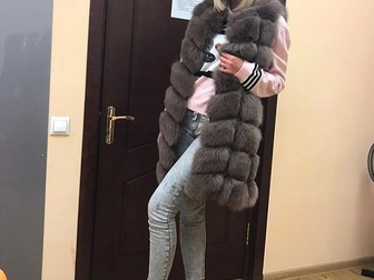 Свежее foto  Шубы и жилетки из песца низка цена 37708383 в Москве