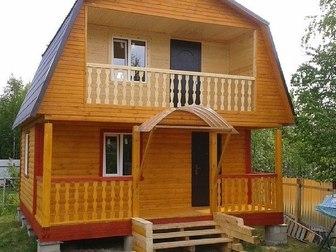Скачать бесплатно foto  Строим дома, бани из бруса, каркасные дома 37853164 в Москве