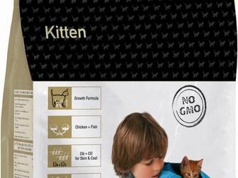Скачать фото  Корм Enova для котят, беременных и кормящих кошек 38023281 в Москве