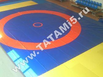 Скачать бесплатно foto  Борцовские ковры , татами, будо-мат, Ринги , клетки ММА 39523546 в Москве