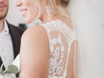 Смотреть foto  Свадебное платье 39632185 в Москве
