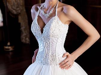 Смотреть изображение  Продам свадебное платье 39649933 в Москве