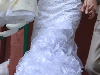 Свежее фотографию Свадебные платья Продаю свадебное платье в отличном состоянии 39736812 в Москве