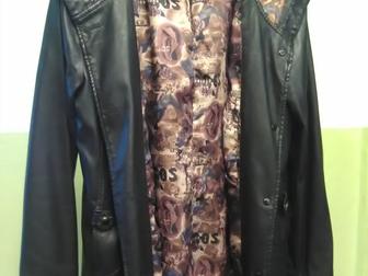 Просмотреть изображение  Хорошая кожаная куртка хорошая цена! 39883781 в Новосибирске