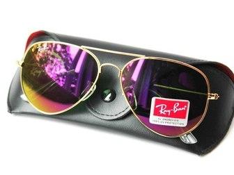 Скачать бесплатно фото Солнечные очки Брендовые очки Ray Ban Aviator - Солнцезащитные очки 42123723 в Москве