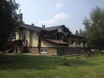 Свежее изображение  Продаётся 2-х этажный дом из бруса в стиле `Шале` по адресу: Московская область, Истринский район, пос, Северный 44231205 в Москве