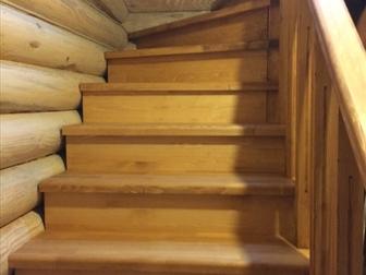 Смотреть фото  Лестница с разворотом на 180 градусов, с забежными ступенями от производителя 46464095 в Москве