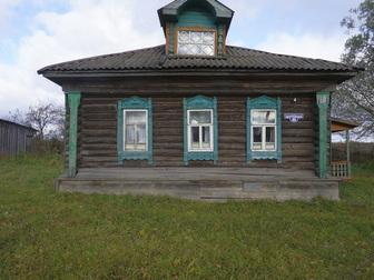 Свежее фотографию  Бревенчатый дом с баней в жилом селе, 280 км от МКАД 49789603 в Москве