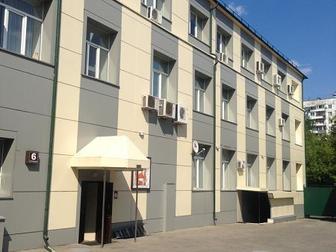 Лот: 84303475,  Предлагаем к аренде блок в 6 стр, : 130 м2 (1 этаж, приемная + 7 комнат, свой с,  у),  Кондиционирование имеется,  Блок свободен уже, круглосуточный в Москве