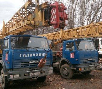 Фото в Авто Спецтехника БУ Автокран Галичанин 25 тонн КС-55713-1В в Москве 4850000