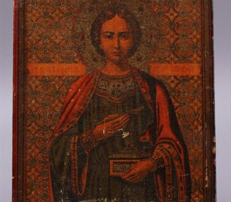 Изображение в   Икона Пантелеймон - целитель,   Россия, в Москве 15000