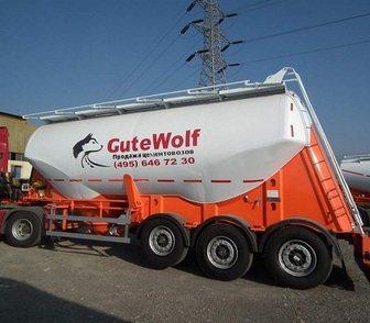 Изображение в Полуприцепы Цементовоз Алюминиевый цементовоз GuteWolf (немецкая в Москве 0