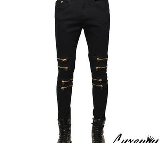 Фотография в Одежда и обувь, аксессуары Мужская одежда Крутые мужские джинсы на металлических застежках в Москве 5100