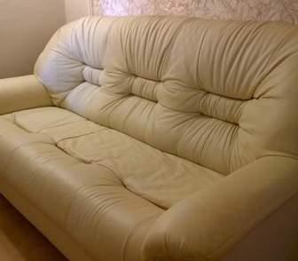 Фото в   Продаю пару: кожаный диван и кресло Даллас. в Москве 0