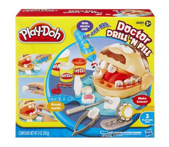 Изображение в Для детей Детские игрушки Play-Doh игровой набор Мистер Зубастик  Такой в Москве 1800