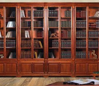 Фотография в Мебель и интерьер Мебель для спальни Мы изготавливаем книжные шкафы любой формы, в Москве 9999