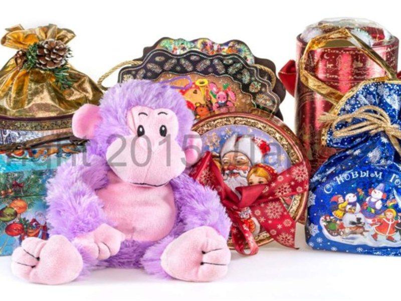 Новогодние сладкие подарки вк 7
