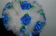 Цветы из ткани,шпильки,зажимы,вуалетки,ободочки,броши,гребни