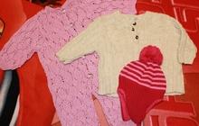 Одежда б/у в хорошем состоянии для девочки, 62-68 см (2-6 мес)