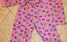 Новые тёплые пижамки для девочек