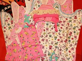 Свежее foto Детская одежда Одежда б/у в хорошем состоянии для девочки, 62-68 см (2-6 мес) 34257680 в Мурманске