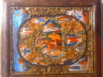 Скачать фотографию  Иконы с янтарем 38636481 в Мурманске