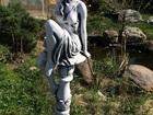 Свежее foto Мебель для дачи и сада Скульптура из бетона Девушка на подиуме 54 см, Ф43 см, 38417683 в Мытищи
