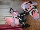 Фото в Для детей Детские коляски Коляска для девочки, лёгкая, удобная, продаю в Набережных Челнах 6900
