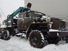 Уникальное изображение Лесовоз (сортиментовоз) продаю УРАЛ 4320 , 2006 г, в с гидроманипулятором, с роспуском, 34052985 в Набережных Челнах