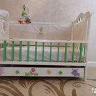 Детская дизайнерская кроватка с ящиком для белья
