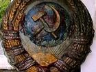 Фотография в Хобби и увлечения Разное Для ценителей советских времен. Литой герб в Нальчике 20000