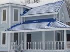 Увидеть фотографию  Дроздово, Новая дача из бруса на при лесном участке, 3 спальни, 2 с/у Калужское шоссе 38424431 в Наро-Фоминске