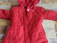 Куртки детские Отдам бесплатно 2 детские куртки на девочку размер 34 (на 7-8 лет